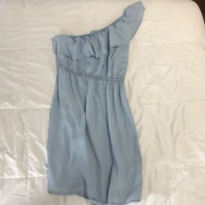 Old navy one should chambray dress